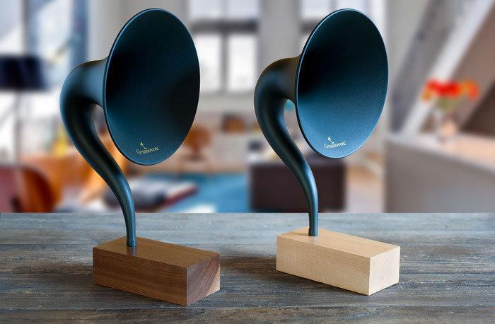 Design: le Gramovox de Gramophone.