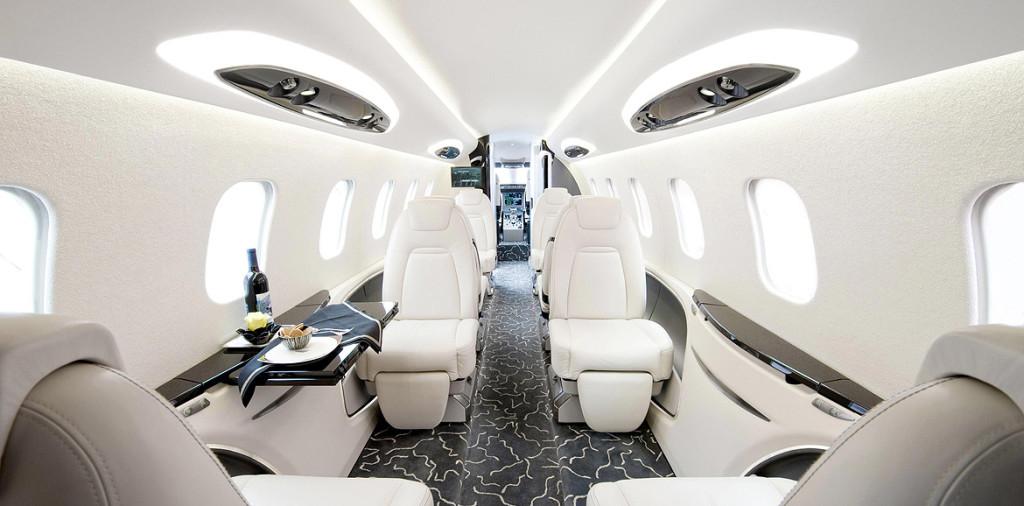 Tendances luxe jets privés.