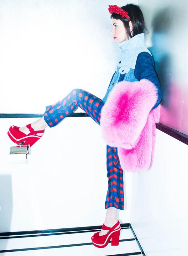 Mode tendances fasionista russe Natasha Goldenberg