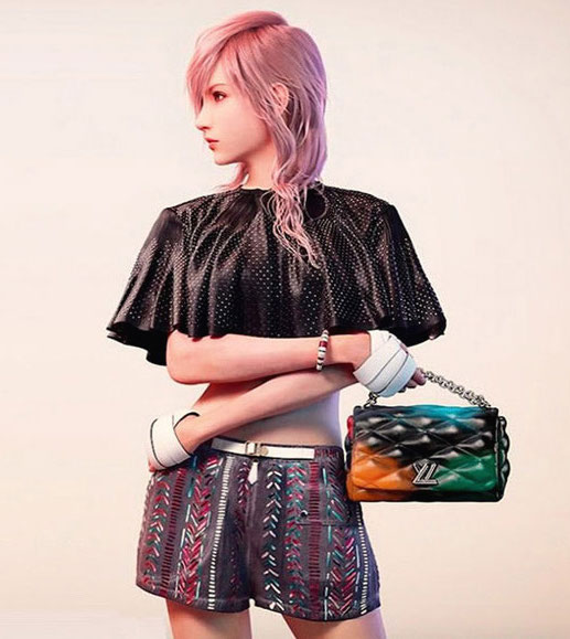 Post-digital Lightning pour Vuitton.