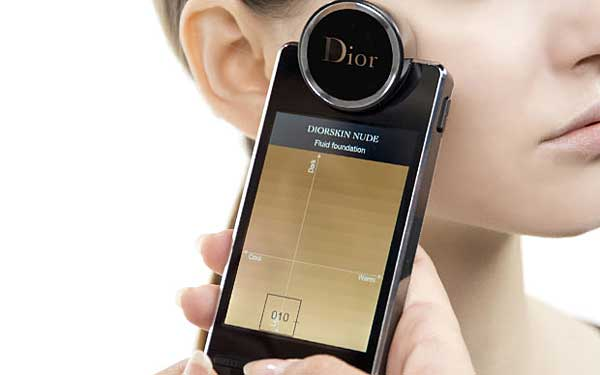 Tendances cosmétique Skin Analyzer de Dior