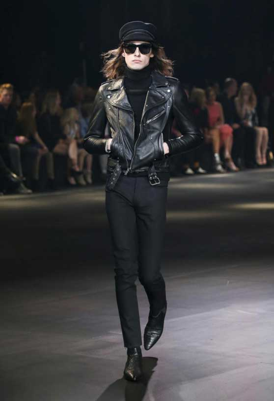 Tendances no genre Saint Laurent.