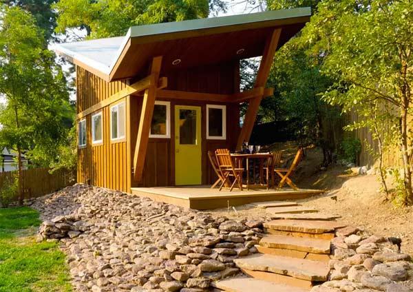 design maison en kit Airbnb