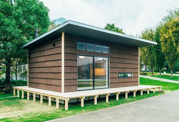 design maison en kit Muji