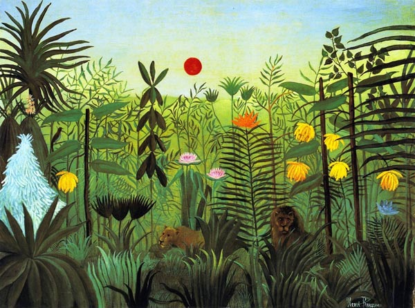 Tendances culture Douanier Rousseau