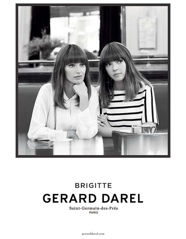 Tendances mode Les Brigitte pour Gérard Darel.