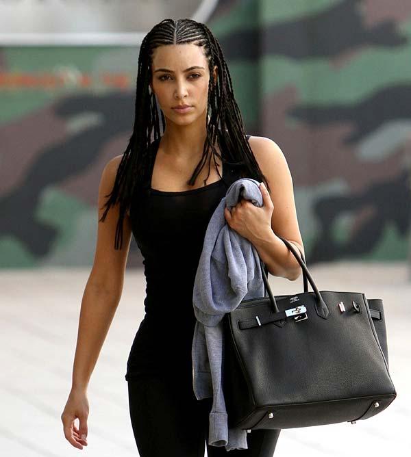 tendances cheveux kim kardashian