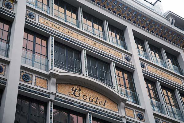 Tendances luxe hôtel Boutet