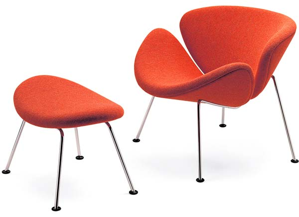 Design Paulin Orange Slice