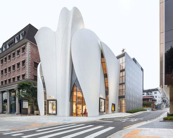 design tendances Dior Seoul