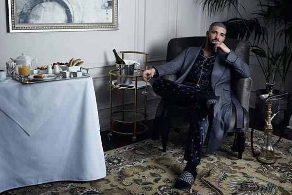 Tendances claquettes Drake