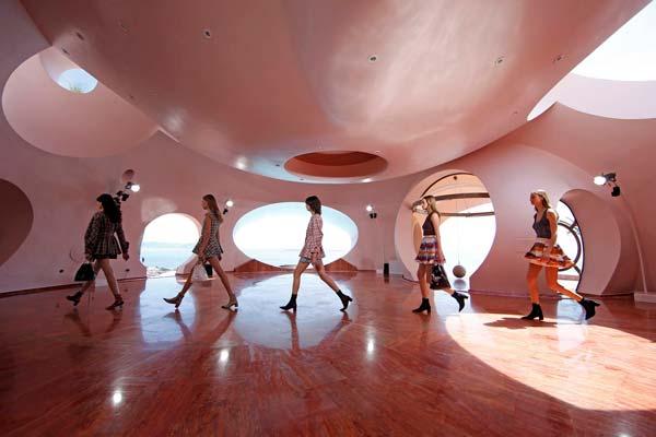 Design tendances Dior Palais Bulles