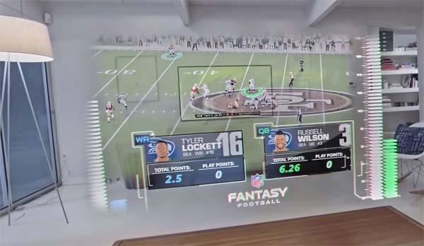 Tendances futur télé holographique Microsoft