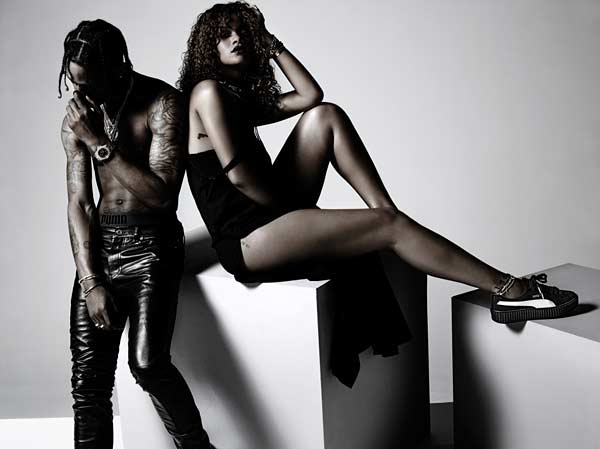 Tendance mode collection Puma x Rihanna