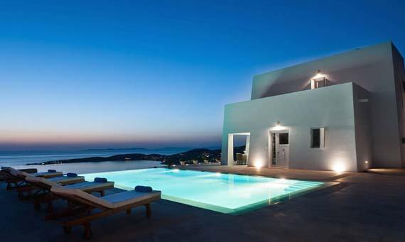Airbnb luxe villa Paros