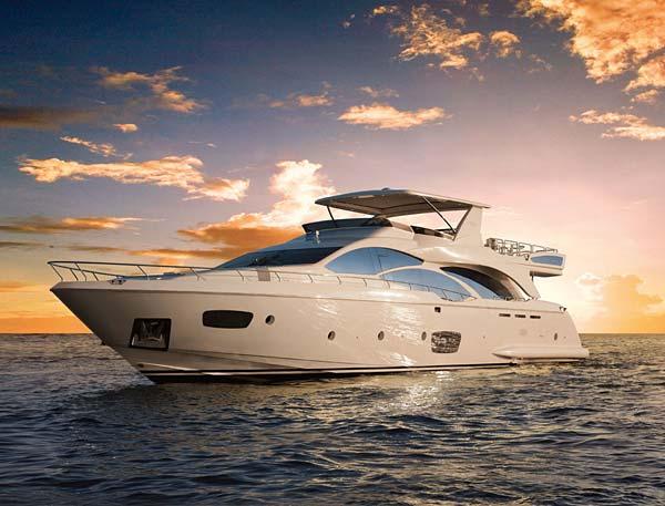 Luxe tendance yacht