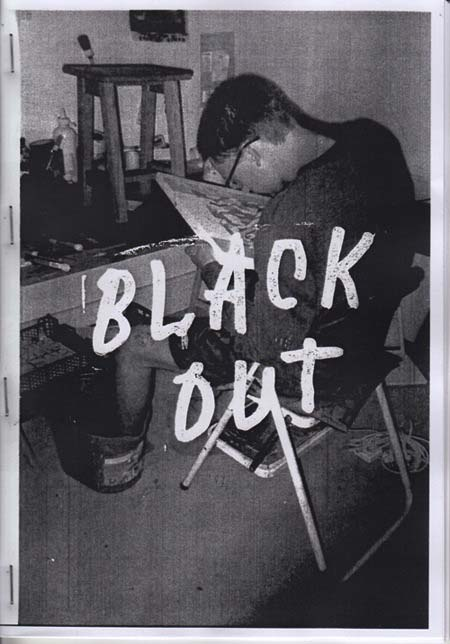 tendance fanzine black out
