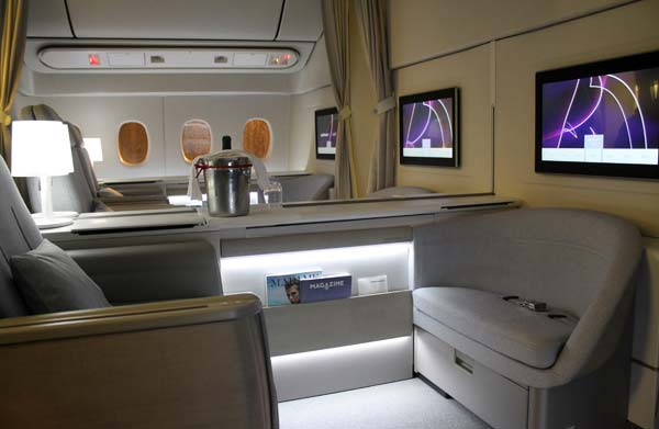 Tendance luxe avion Air France