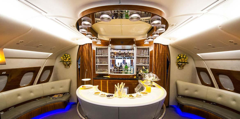 tendance luxe avion Emirates