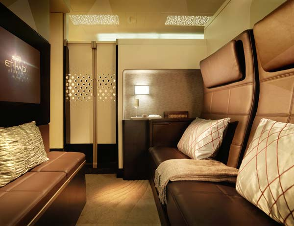 Luxe avion Etihad