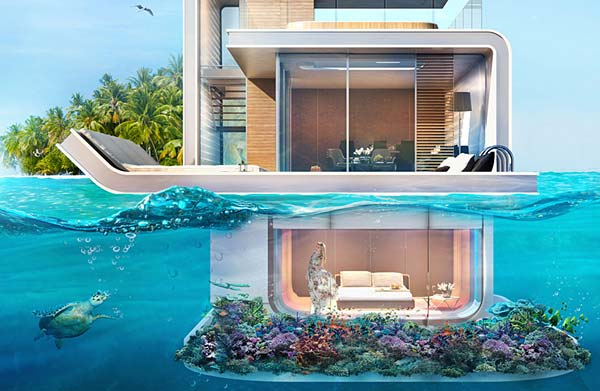 tendance luxe floating seahorse