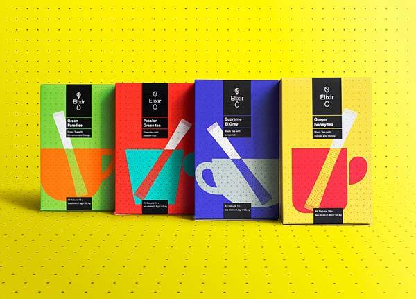 Tendance packaging Elixir
