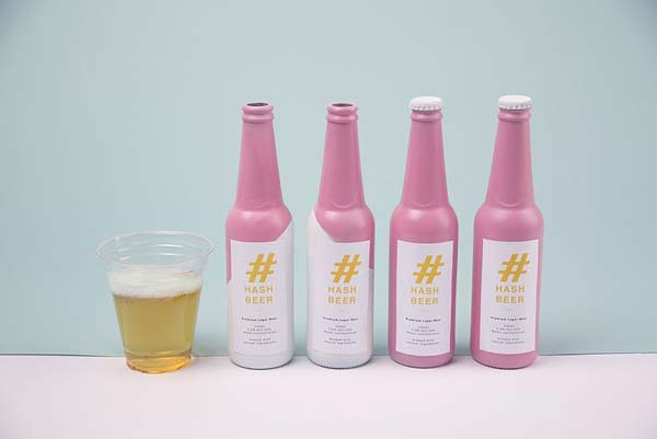Tendance packaging Hash Beer