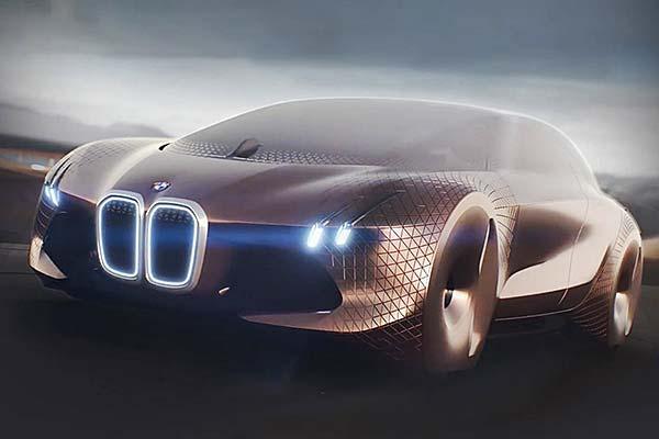 tendance luxe connecté BMW