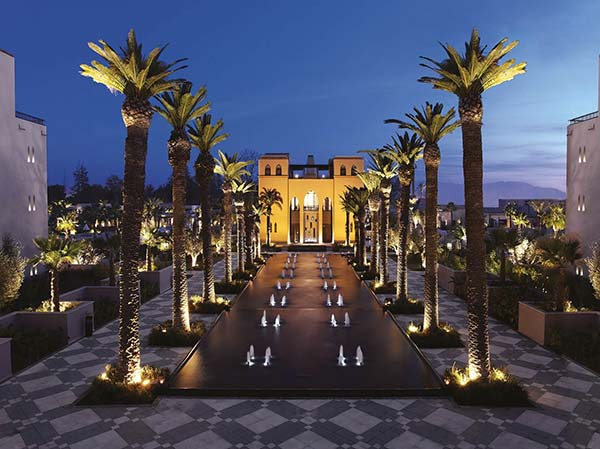 hotel luxe marrakech four seasons