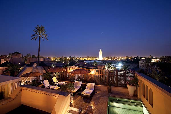 hotel luxe marrakech royal mansour