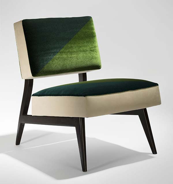 tendance design velours Mahdavi