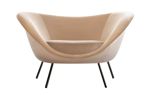tendance design velours Gio Ponti