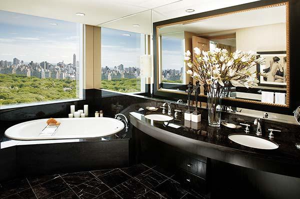 Tendance luxe salle de bains Mandarin Oriental