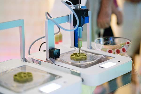Tendance futurs gastronomie 3D robot