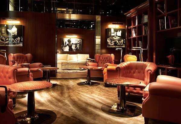 Tendance luxe fumoir royal monceau