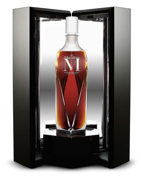 Tendance luxe whisky macallan M