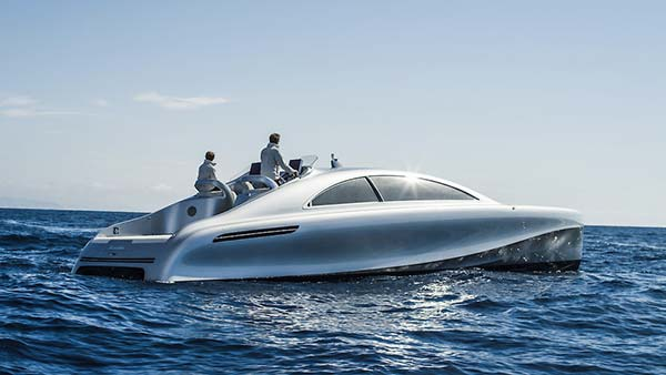 tendance luxe yacht mercedes Arrow