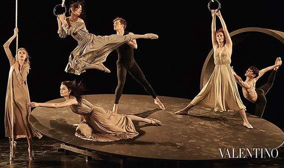 tendance mode danse Valentino