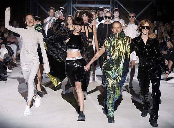 tendance mode danse Wanda Nylon la Danseuse