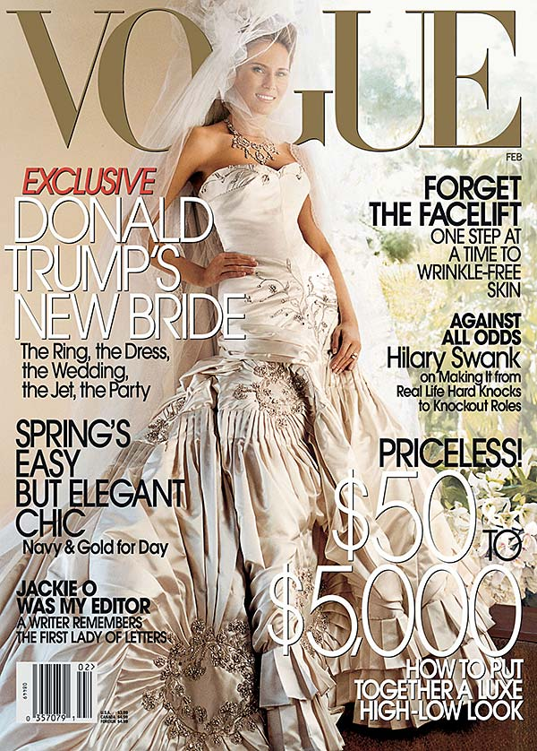 Tendance mode Melania Trump Vogue