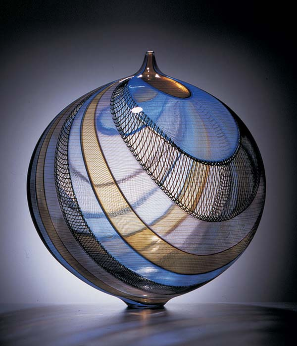 tendance design verre soufflé Lino Tagliapietra