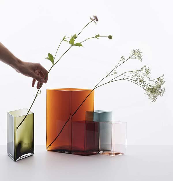 tendance design verre soufflé Bouroullec