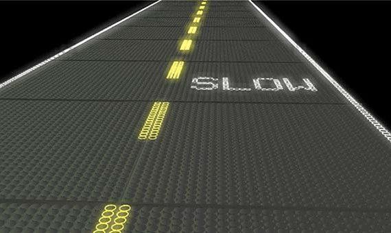 tendances futurs route solaire led