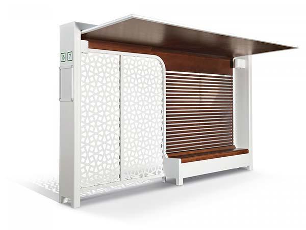 le mobilier urbain monte d 39 un cran. Black Bedroom Furniture Sets. Home Design Ideas