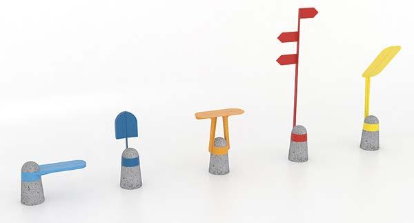 Tendance design mobilier urbain  AdriAn Blanc
