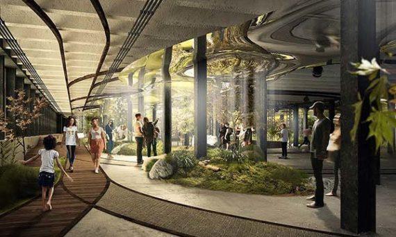tendances futurs parc souterrain lowline