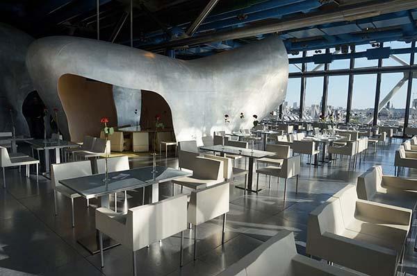 Tendances luxe restaurant avec vue Le Georges