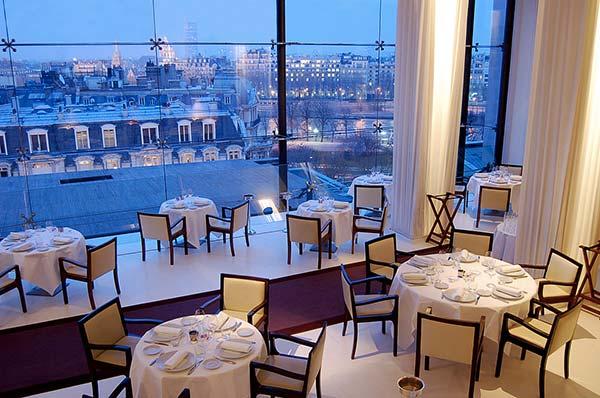 Tendances luxe restaurant avec vue La Maison Blanche