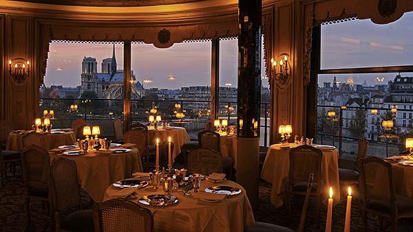 Tendances luxe restaurant avec vue La Tour d'Argent