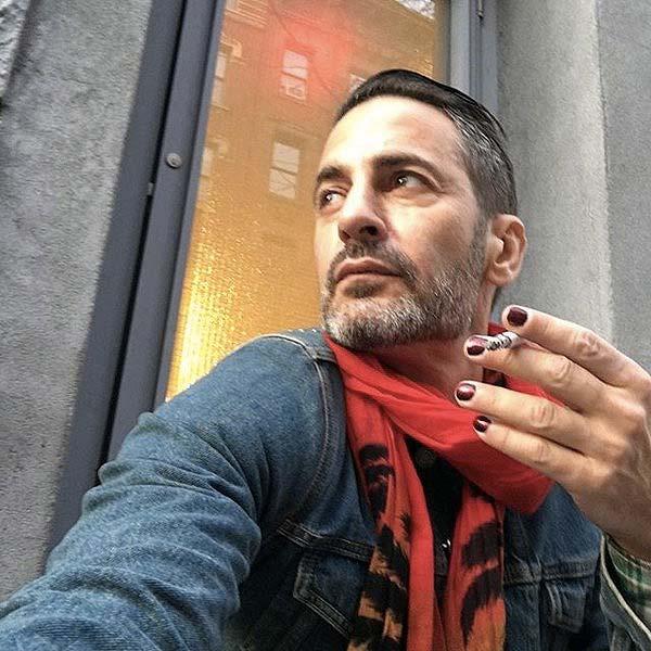 tendances beauté maquillage hommes  Marc Jacobs